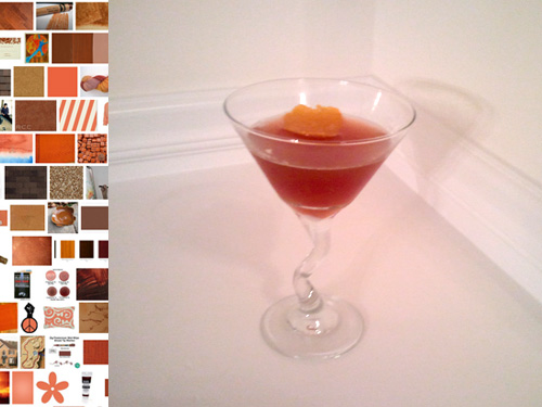 Burnt Sienna cocktail